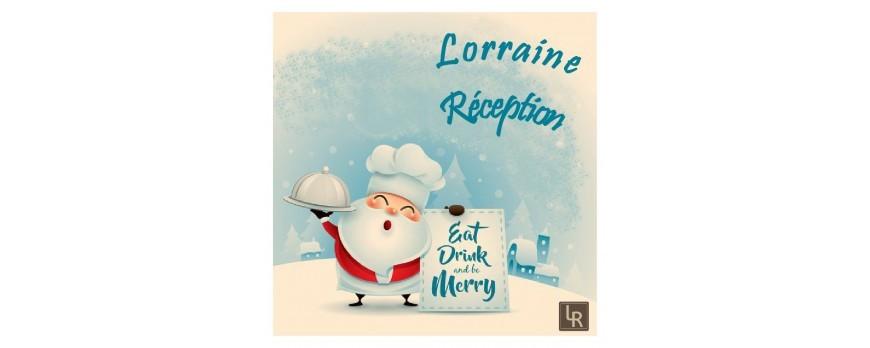 La carte de fêtes de fin d'années Lorraine Récéption est arrivée !